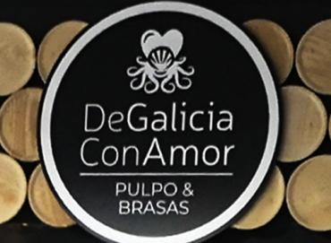 logo de galicia con amor
